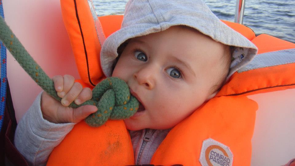 Wszyscy na pokład, czyli o żeglowaniu z dzieckiem