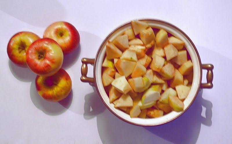dynia, przepisy z dyni, co zrobic z dyni, dzem z dyni, z jablkami, dzem dyniowo-jablkowy, przetwory z dyni,