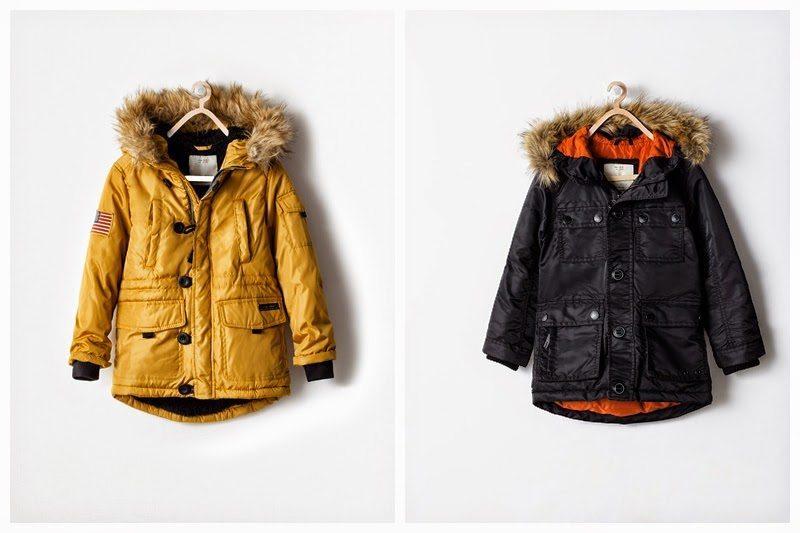 Przegląd zimowych kurteczek dla trzylatka oraz o tym, że nie wszystko moro, co w ciapki