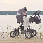 Pierwszy spacer z wózkiem Lupo Comfort