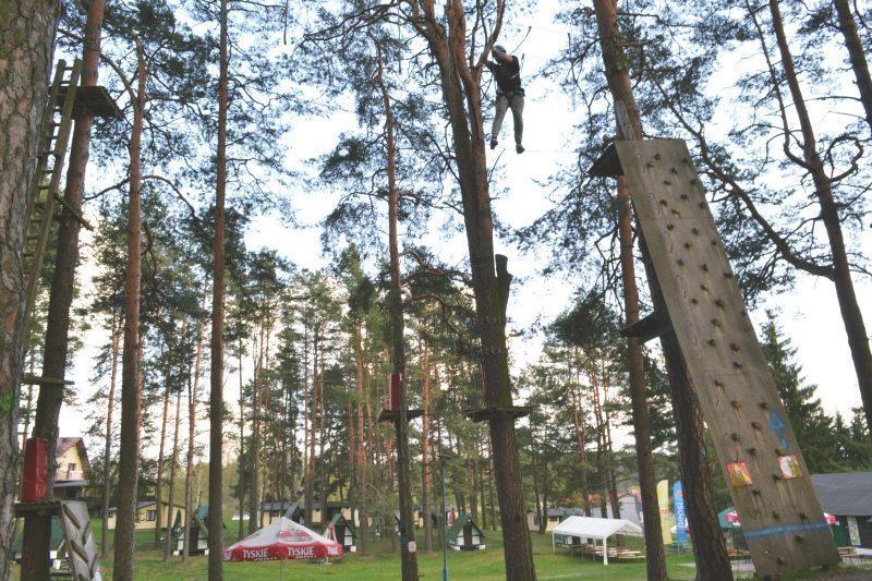 Park linowy w Spychowie