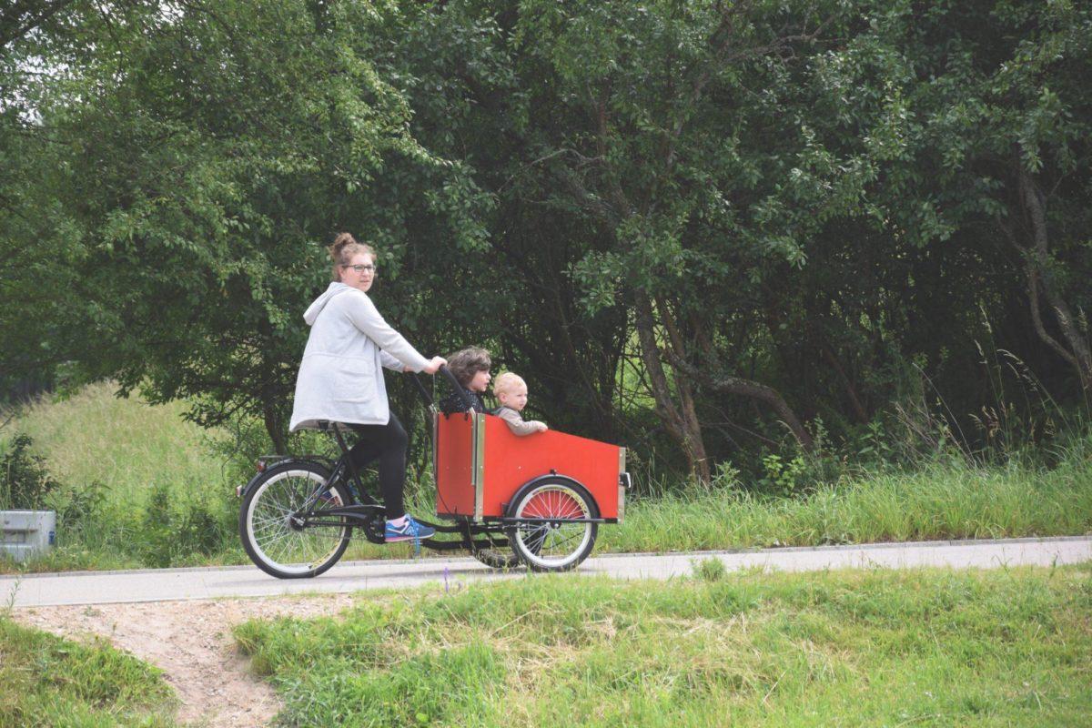 rower ze skrzynią Cargo Bike
