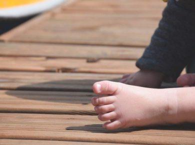 pierwsze buty dziecka