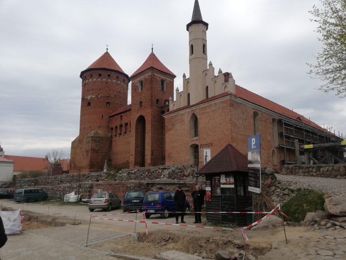 zamek w Reszlu
