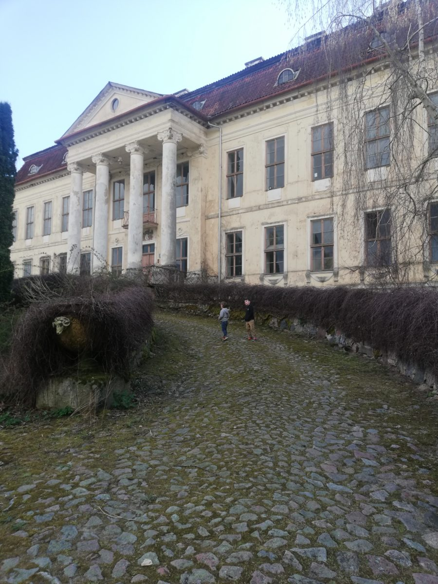 pałac w Drogoszach